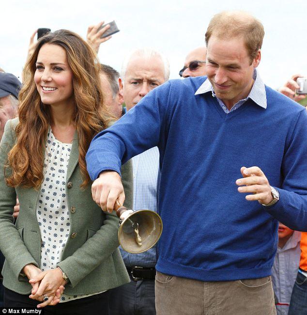 Кейт Мидълтън и принц Уилям дават старт на състезание