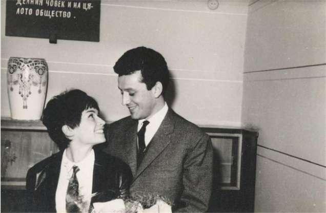 Лили Иванова с бившия си съпруг