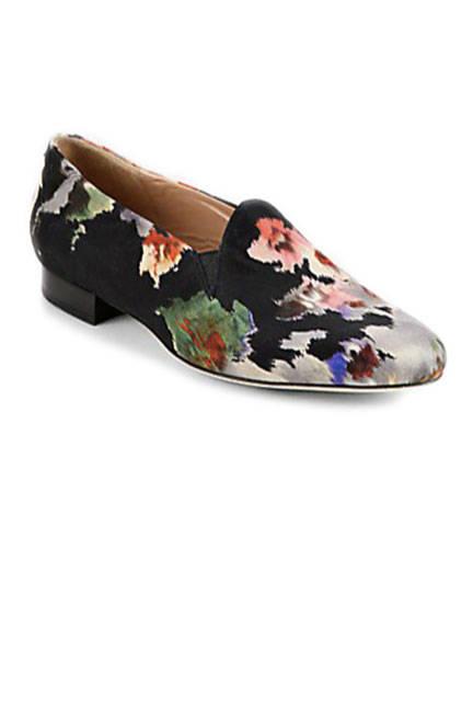 Флорални обувки есен 2013