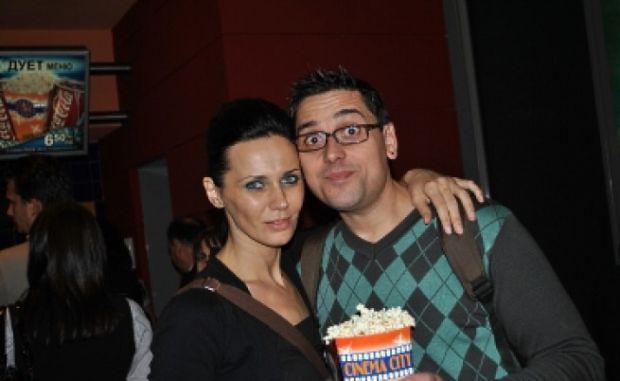 Мария Силвестър със съпруга си