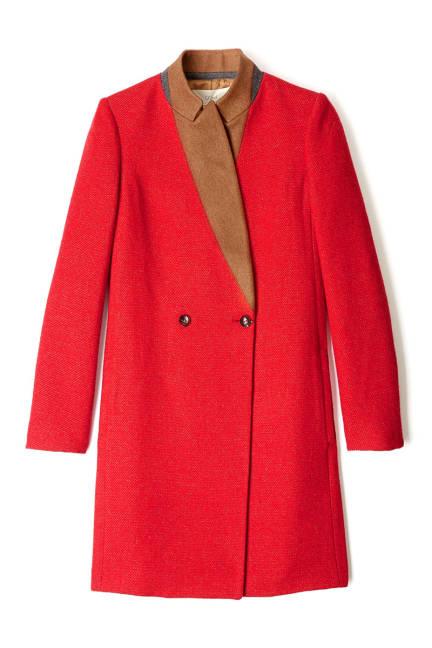 Червено палто есен 2013