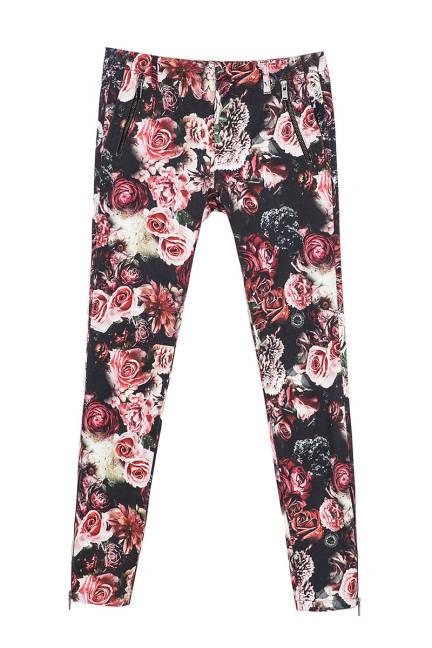 Флорални панталони от Zara