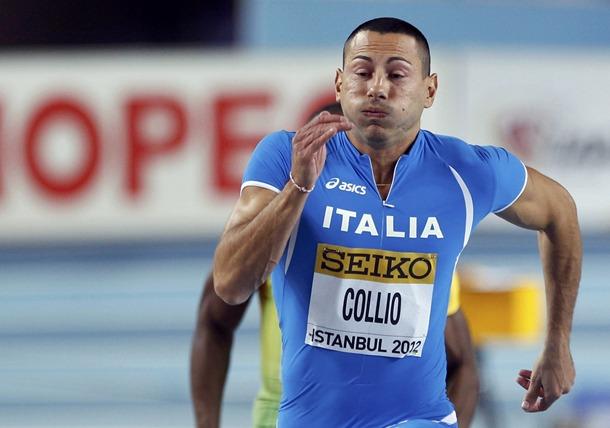 Симоне Колио на състезание