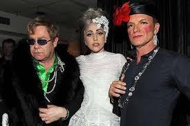 Елтън Джон с Лейди Гага и Стинг