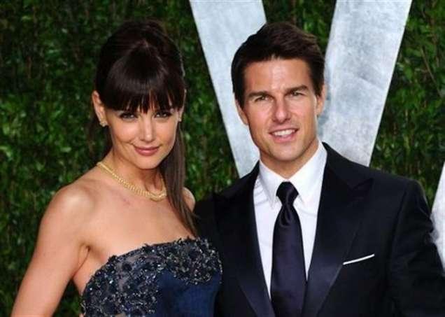 Кейти Холмс и Том Круз на наградите Оскар