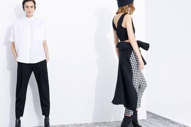 Едноцветна модна тенденция за есента на 2013