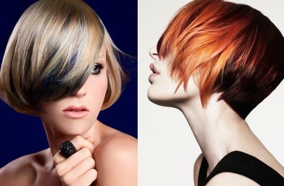 модерен цвят на косата