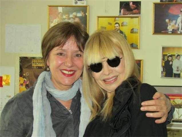 Лили Иванова с Анна Мария Тонкова