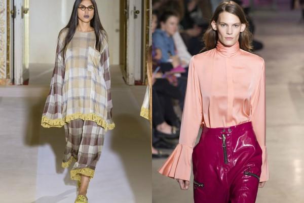 Стилни и елегантни с широки ръкави за пролет 2017