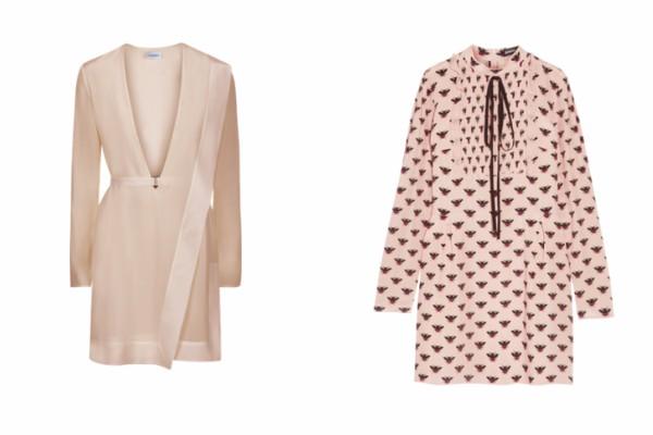Стилни рокли с дълъг ръкав пролет 2017