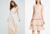 Дълга рокля и къса рокля пролет 2017