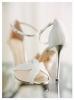 Изчистен и нежен модел булченски обувки 2017