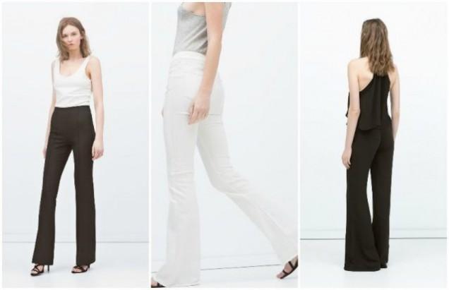 Панталони с висока талия лято 2017