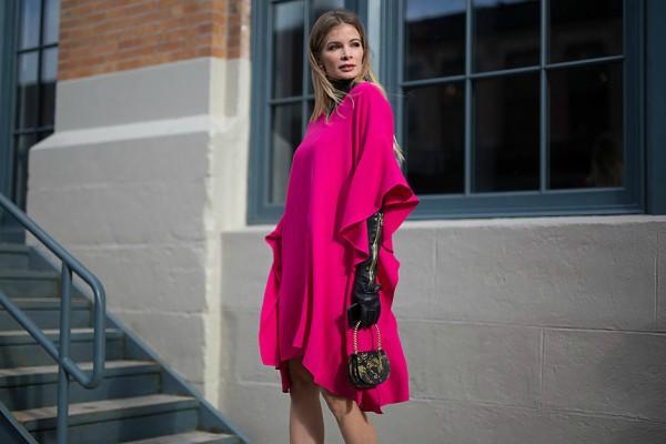 Розова рокля пролет 2017