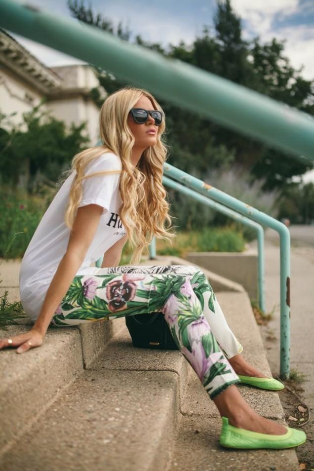 Цветни панталони пролет 2017