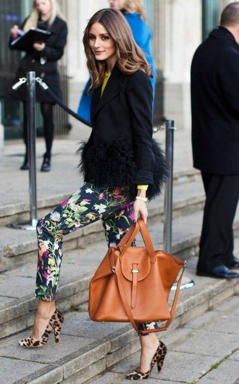 Панталони с флорален принт пролет 2017
