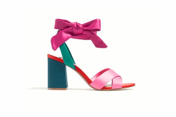 Цветни сандали лято 2017
