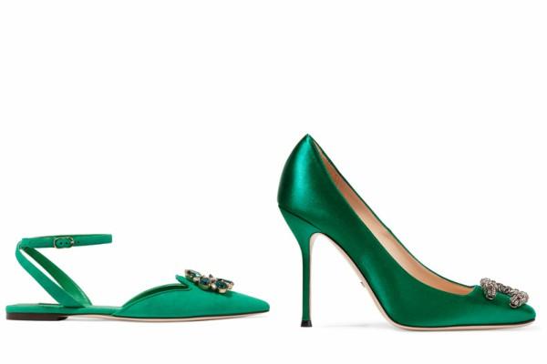 Сандали и обувки в зелено лято 2017
