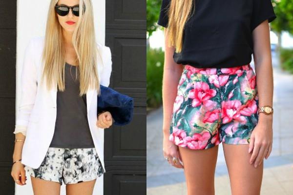 Как да комбинираме късите панталонки през лято 2017