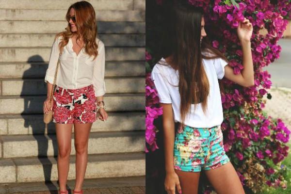 Флорални панталонки 2017