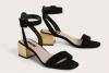 Стилни велурени сандали лято 2017