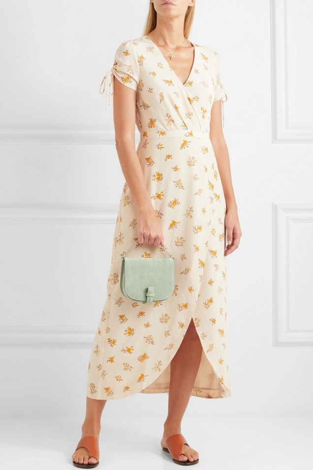Флорална рокля лято 2017