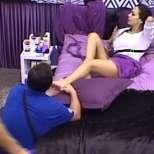 Лияна масаж от мъжа на Мира Радева Вип Брадър