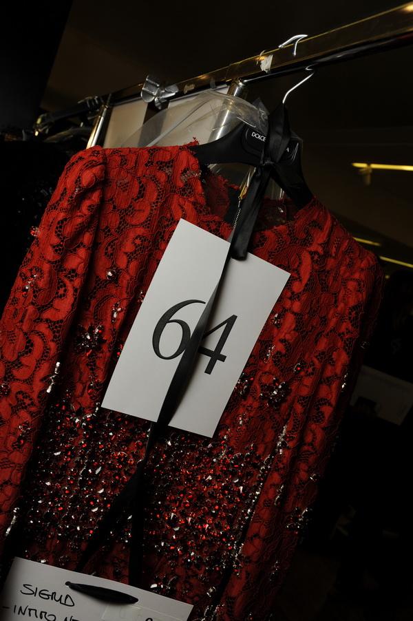 Зад кулисите на  Dolce Gabbana за есен/зима 2014