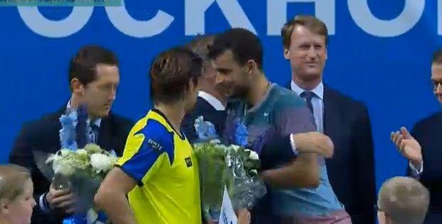 Григор Димитров победител в турнира в Стокхолм