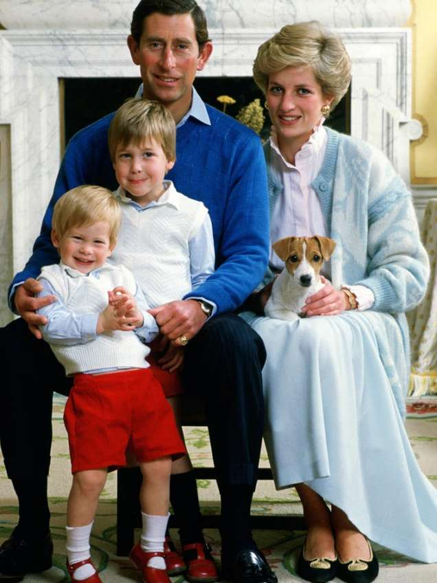 Принцеса Даяна и семейството й