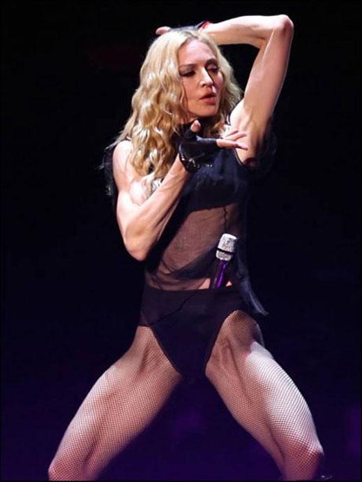 Мадона на концерт