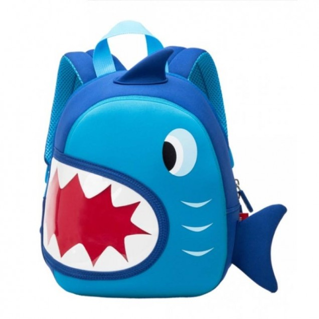 3D раничка акула