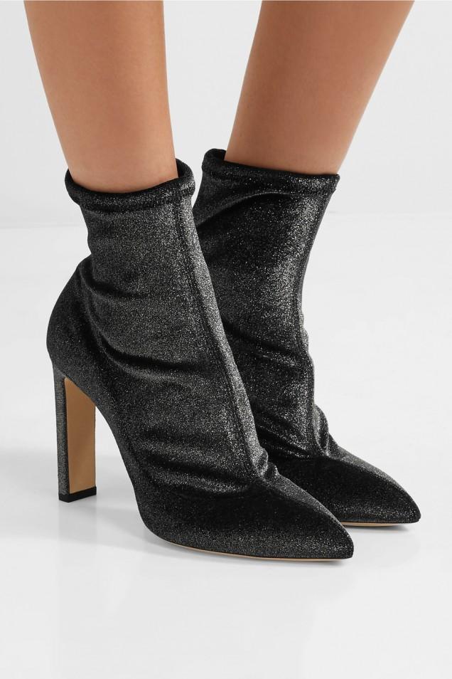 Стилни боти тип чорап зима 2017