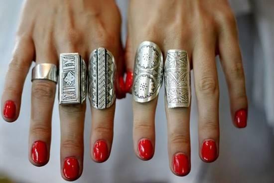 Сребърни пръстени зима 2018