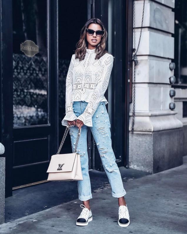 Женствена блуза пролет 2018