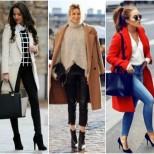 Вълнено зимно палто