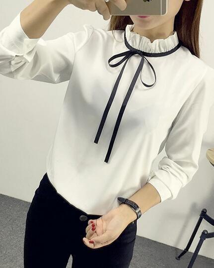 риза с връзки