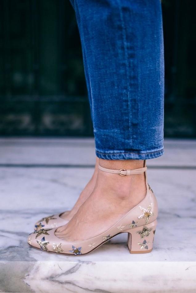 ниски на токче обувки