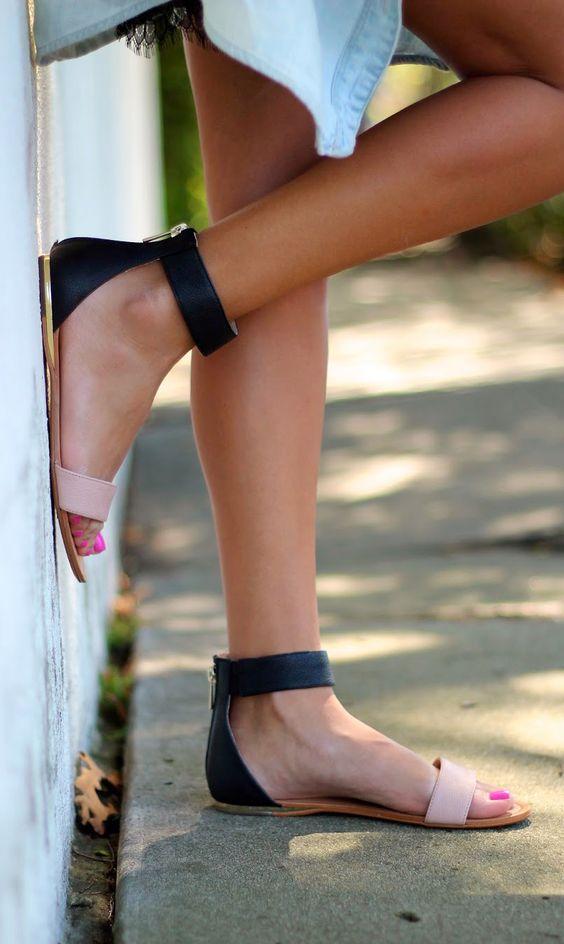 Нежен модел сандали лято 2018